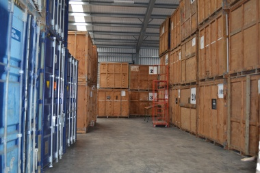 Storage at Hookers Pacific